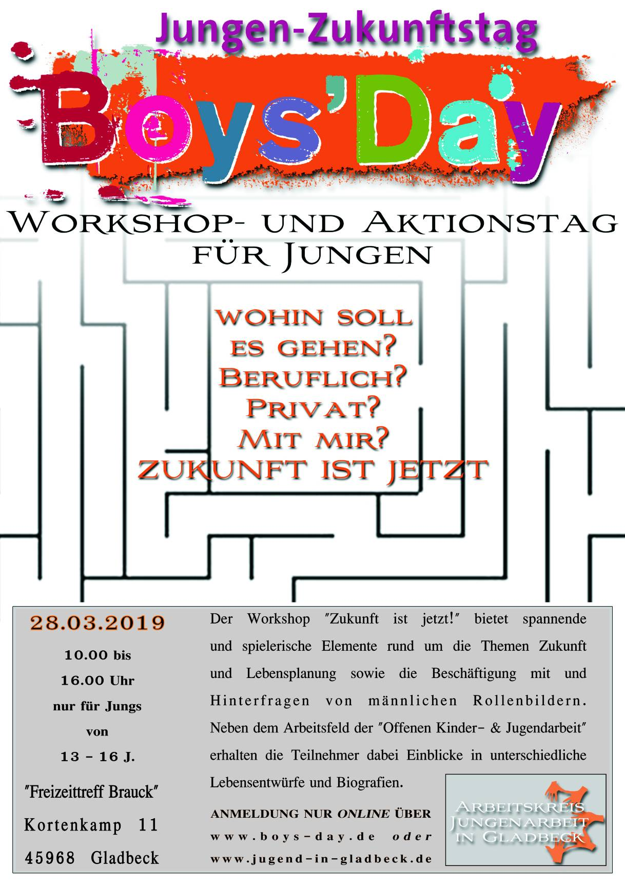 Flyer Boys´Day 2019