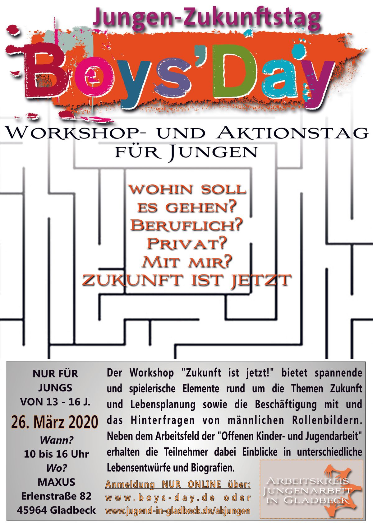 Flyer Boys´Day 2020