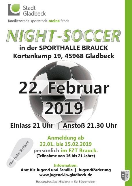 Flyer Night-Soccer Februar 2019